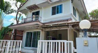 ขาย บ้านเดี่ยวหลังริม ม.สีวลี สุวรรณภูมิ บางพลี ใกล้โรงเรียน สารสาสน์สุวรรณภูมิ
