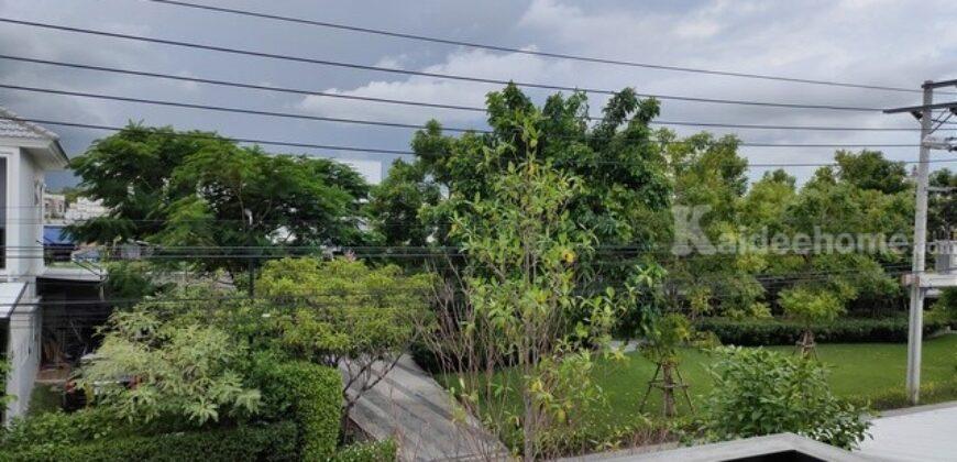 ขายบ้าน หมู่บ้าน ชวนชื่น พาร์ค อ่อนนุช-วงแหวน 36 ตร.ว. ติดสวน ใกล้ทางด่วน