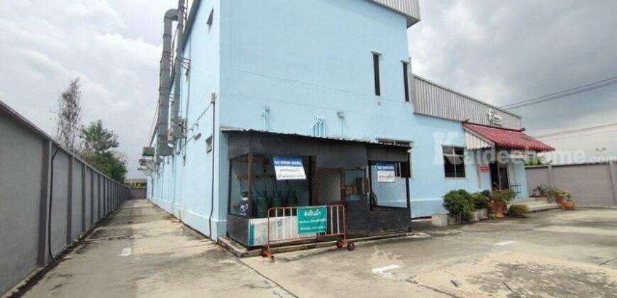 ขายโรงงาน พร้อมห้องเย็น ขนาด 1-3-61 ไร่ พร้อมดำเนินกิจการต่อได้ทันที ซอยเทพกุญชร 11 ใกล้ตลาดไอยรา