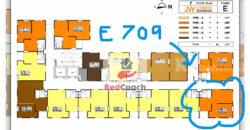 ขายคอนโด เจดับบลิว คอนโด @ ดอนเมือง 1 ห้องนอน ชั้น 7 ตึก E