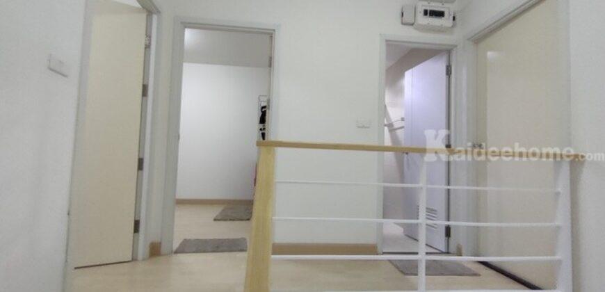 ขายทาวน์โฮม เดอะ คอนเนค อ่อนนุช-วงแหวน ขนาด 21 ตรว. 3 ห้องนอน แต่สวยพร้อมอยู่ ต้นโครงการ