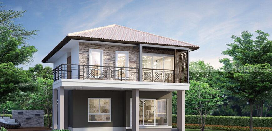 ขาย บ้านเดี่ยว 2 ชั้น โครงการ วินนิ่ง เรสซิเดนซ์ สุขุมวิท-แพรกษา แบบ 3 ห้องนอน 3 ห้องน้ำ 2 ที่จอดรถ