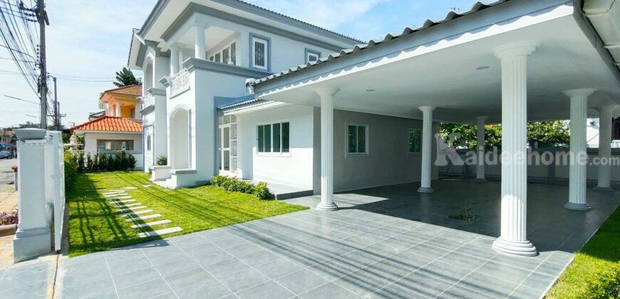 ขายบ้านสวย ตกแต่ง รีโนเวท เรียบร้อย บ้านเดี่ยว ภัสสร 3 คลอง 3