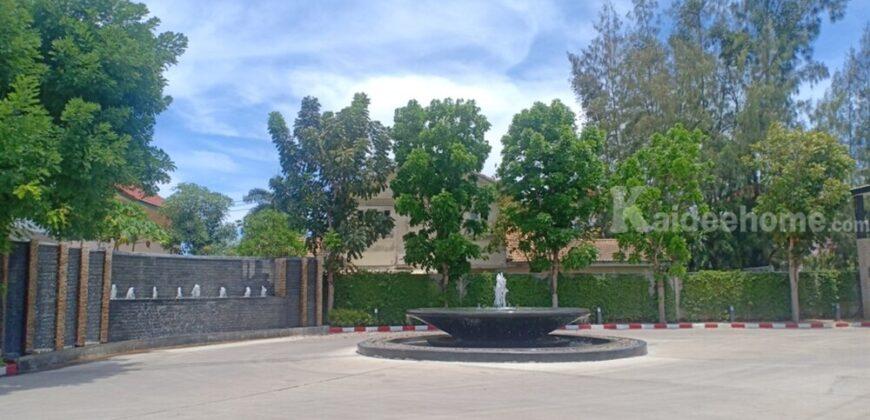 บ้านเดี่ยว ไซต์ใหญ่!!! พร้อมอยู่ โครงการ ดิ เอกเทนโซ บางปลา ขนาด 108.7 ตร.วา พื้นที่ใช้สอย 190.17 ตร.ม.
