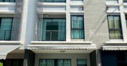 ทาวน์โฮม Home Office 3 ชั้น บ้านกลางเมือง Bann Klang Muang พระราม9-รามคำแหง (ซอยวัดเทพลีลา) พร้อมอยู่ ขายถูกสุดในโครงการ