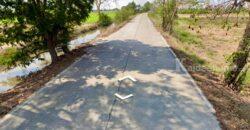 ขายที่ดิน เนื้อที่ 21-2-68 ไร่ ถนนราชพฤกษ์ (ปทุมธานี) เข้าซอย 80 เมตร