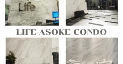 ขายคอนโด Mrtเพชรบุรี Life Asoke ราคาทุน รีโนเวทใหม่ ชั้น30+