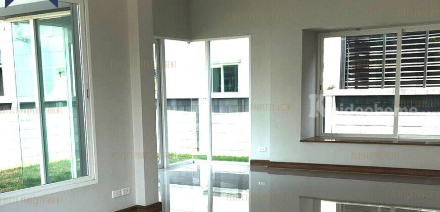 บ้านเดี่ยว วรารมย์ พรีเมี่ยม วัชรพล-จตุโชติ บ้านใหม่ 2 ชั้น ยังไม่เคยเข้าอยู่อาศัย โครงการ : วรารมย์ พรีเมี่ยม วัชรพล-จตุโชติ