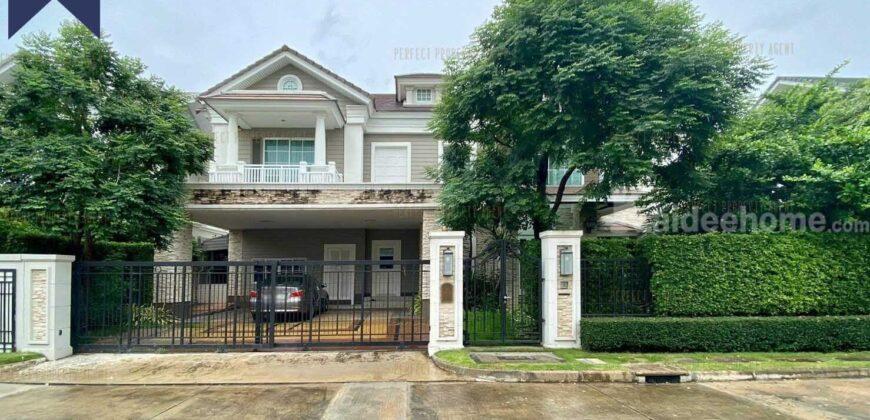บ้านเดี่ยวนาราสิริ American luxury บางนา กม.10 โครงการ : หมู่บ้าน นาราสิริ ที่ตั้ง : ถนนบางนา-ตราด ตำบลบางพลีใหญ่ อำเภอบางพลี สมุทรปราการ