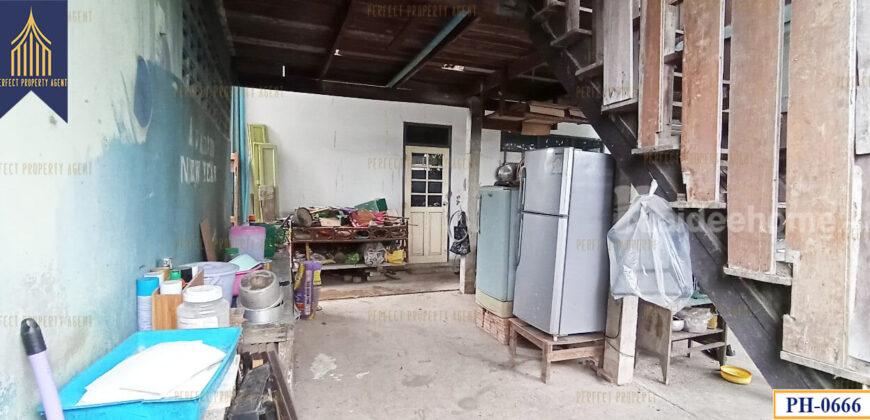 บ้านเดี่ยวสร้างเอง ลาดกระบัง เนื้อที่เยอะ ที่ตั้ง : แขวงลำปลาทิว เขตลาดกระบัง กรุงเทพ ฯ