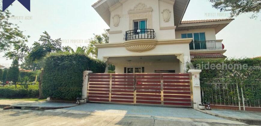 บ้านเดี่ยว หลังมุม ปริญดาไลท์ ราชพฤกษ์ – พระราม5 พร้อมเฟอร์นิเจอร์บิวท์อิน โครงการ : ปริญดาไลท์ Prinyada Light Rama 5 ที่ตั้ง : ถนนราชพฤกษ์ ตำบลบางกร่าง อำเภอเมืองนนทบุรี นนทบุรี