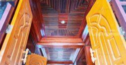 บ้านพร้อมที่ดิน สร้างเอง ลำปาง ตกแต่งด้วยไม้สักทองทั้งหลัง ที่ตั้ง : ตำบล ห้างฉัตร อำเภอ ห้างฉัตร ลำปาง