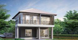 บ้านเดี่ยว 2 ชั้น เนื้อที่ดินกว้างขวาง – The Extenso Bangpla