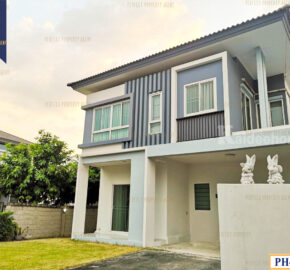 บ้านเดี่ยว Iconature รามอินทรา-บางชัน ใกล้ BTS สถานีบางชัน โครงการ : Iconature รามอินทรา