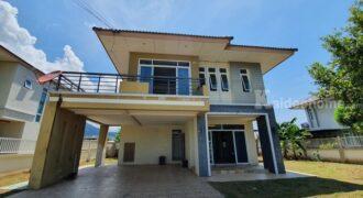 ขายบ้านเดี่ยว 2 ชั้น หมู่บ้าน ศรุตา โฮม บ้านเพ ระยอง บ้านสไตล์บ้านพักตากอากาศ ใกล้หาดแม่รำพึง