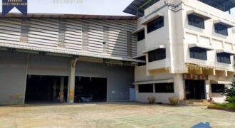 โรงงาน พร้อมตึกสำนักงานออฟฟิศ พระราม 2 สมุทรสาคร ที่ตั้ง : ตำบลคอกกระบือ อำเภอเมือง จังหวัดสมุทรสาคร
