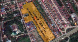 ขายที่ดินสัตหีบ ติดถนนสุขุมวิท ขนาด 14 ไร่ ใกล้สนามบินอู่ตะเภา เหมาะทำโครงการแนวราบหรือที่ดินจัดสรร