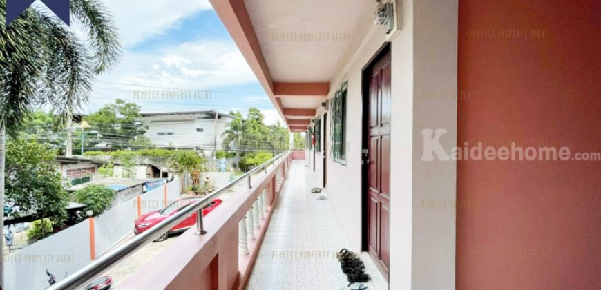 อพาร์ตเมนต์ 27 ห้อง พร้อมผู้เช่า มาบยายเลีย พัทยา โครงการ : พรประภานิมิตร ที่ตั้ง : ถนนพรประภานิมิตร ตำบลโป่ง อำเภอบางละมุง จังหวัดชลบุรี
