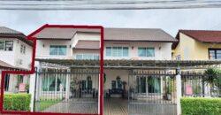 ขายทาวเฮาส์ 2 ชั้น หมู่บ้านร่มสุข วิลเลจ 7 เนินกระปรอก บ้านฉาง ระยอง ตกแต่งใหม่พร้อมอยู่ ใกล้โรบินสันบ้านฉาง